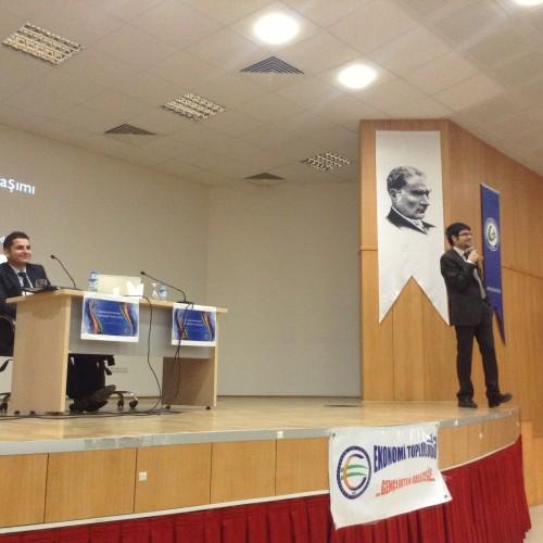 Ekonomistler Platformu, EkoSohbetler Kapsamında Giresun Üniversitesi'nde idi..