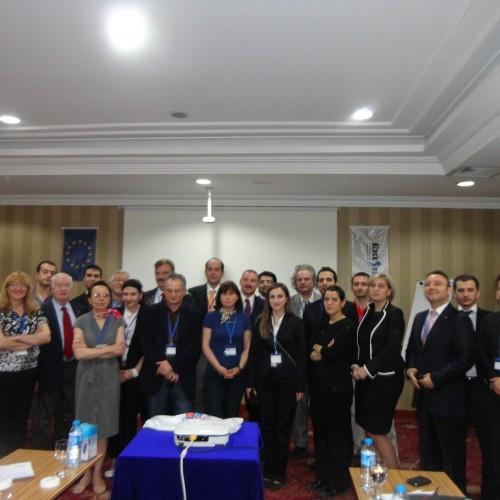 Karadeniz İpek Yolu Koridoru İlk Proje Toplantısı 29-30 Nisan Tarihlerinde İstanbul'da Gerçekleşti..