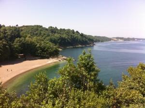 akçakoca plajı