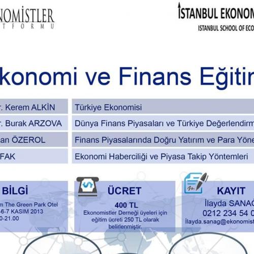 İSTANBUL EKONOMİ OKULU KAPILARINI AÇIYOR!