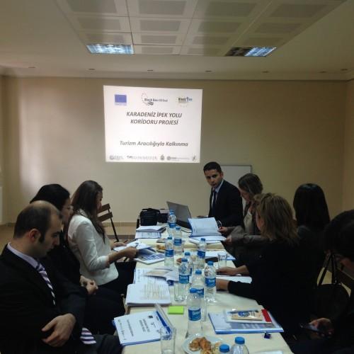 Ekonomistler Platformu, İpek Yolu Belediyeler Birliği ile Ankara'da Buluştu..