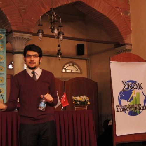 Ekonomistler Platformu Yönetim Kurulu Başkanı Dr. Oğuz Demir, İstanbul Üniversitesi'ndeydi.