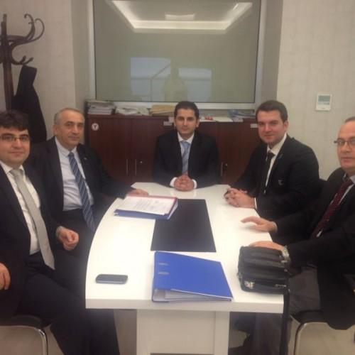 Batı Karadeniz Lezzet Atölyesi Projesi'nde imzalar atıldı.