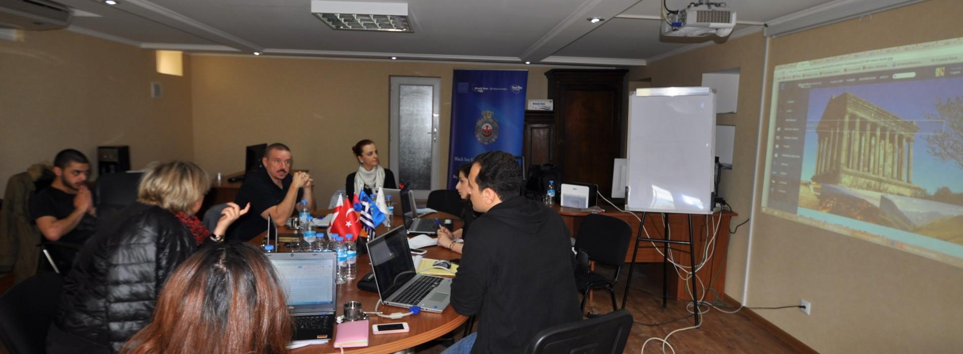 Karadeniz İpek Yolu Koridoru 5. Proje Toplantısı Gerçekleştirildi.