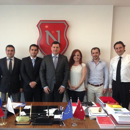 Ekonomistler Platformu olarak, Nişantaşı Üniversitesi Rektörü Prof. Dr. Kerem Alkin Hocamızı makamında ziyaret ettik.