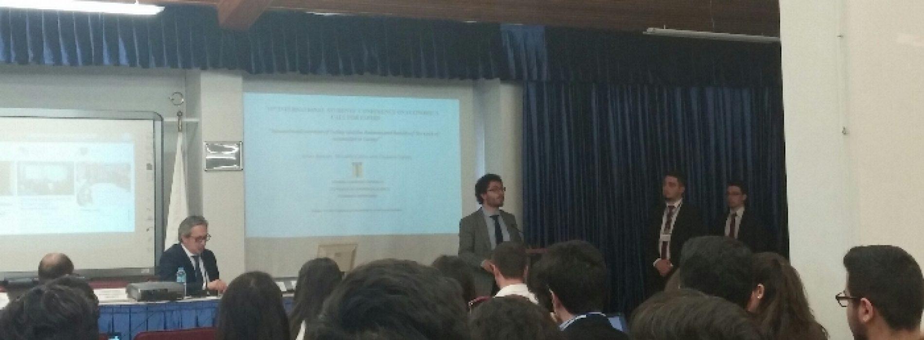 Uluslararası İktisat Öğrencileri Kongresi'ndeydik.