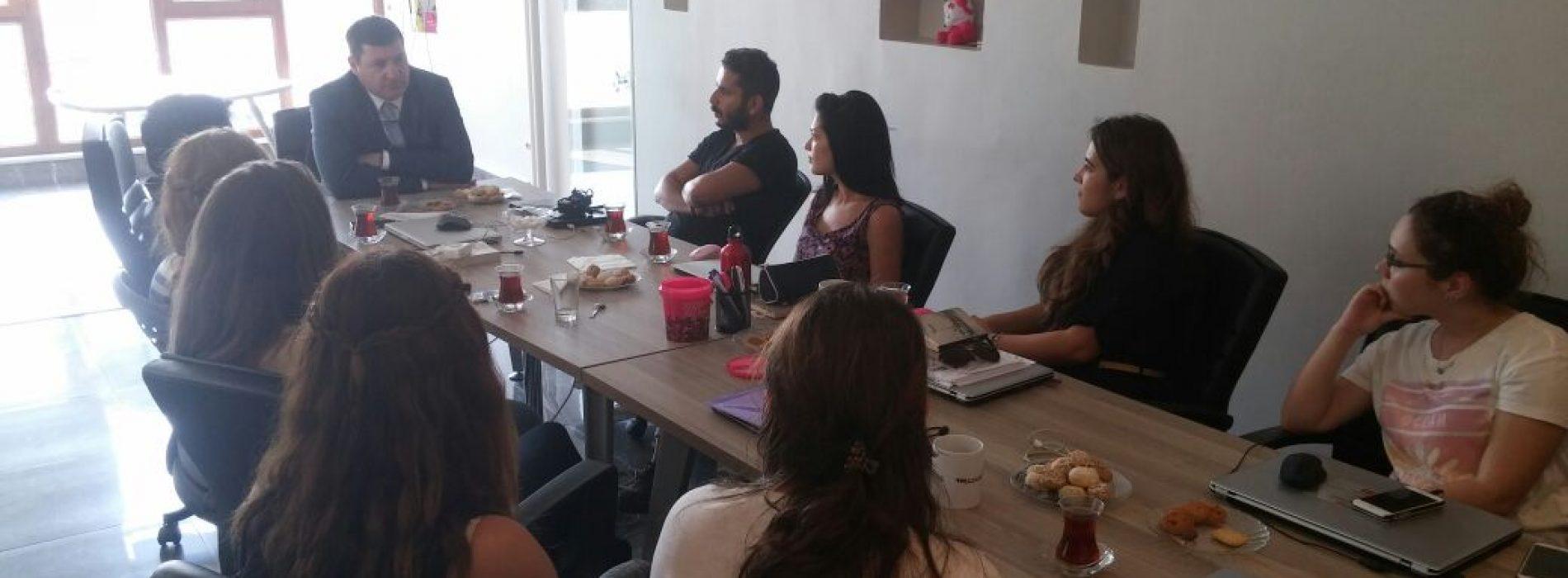 Prof. Dr. Kerem Alkin'den Ekonomistler Platformu Ziyareti