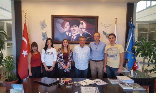 KİDO Ofisi Kuşadası Belediye Başkanı'nı ziyaret etti