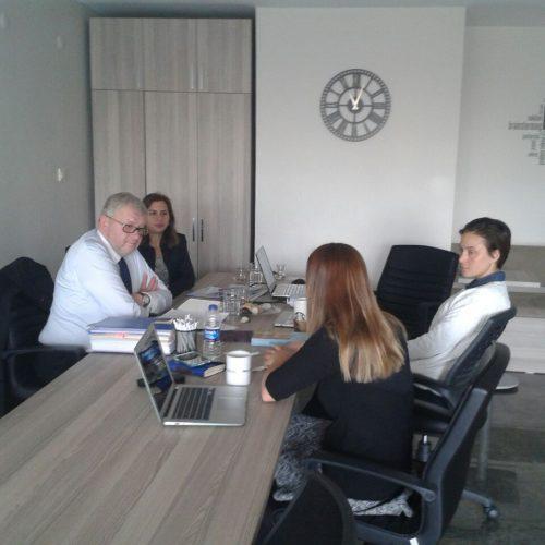 Avrupa Komisyonu Türkiye Delegasyonu Temsilcileri Ekonomistler Platformunu Ziyaret Etti