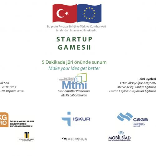 """Startup Games II"""