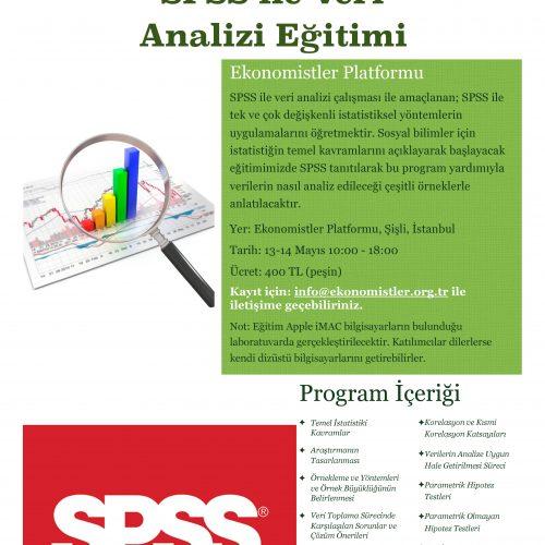 SPSS ile Veri Analizi Eğitimlerimiz Başlıyor!