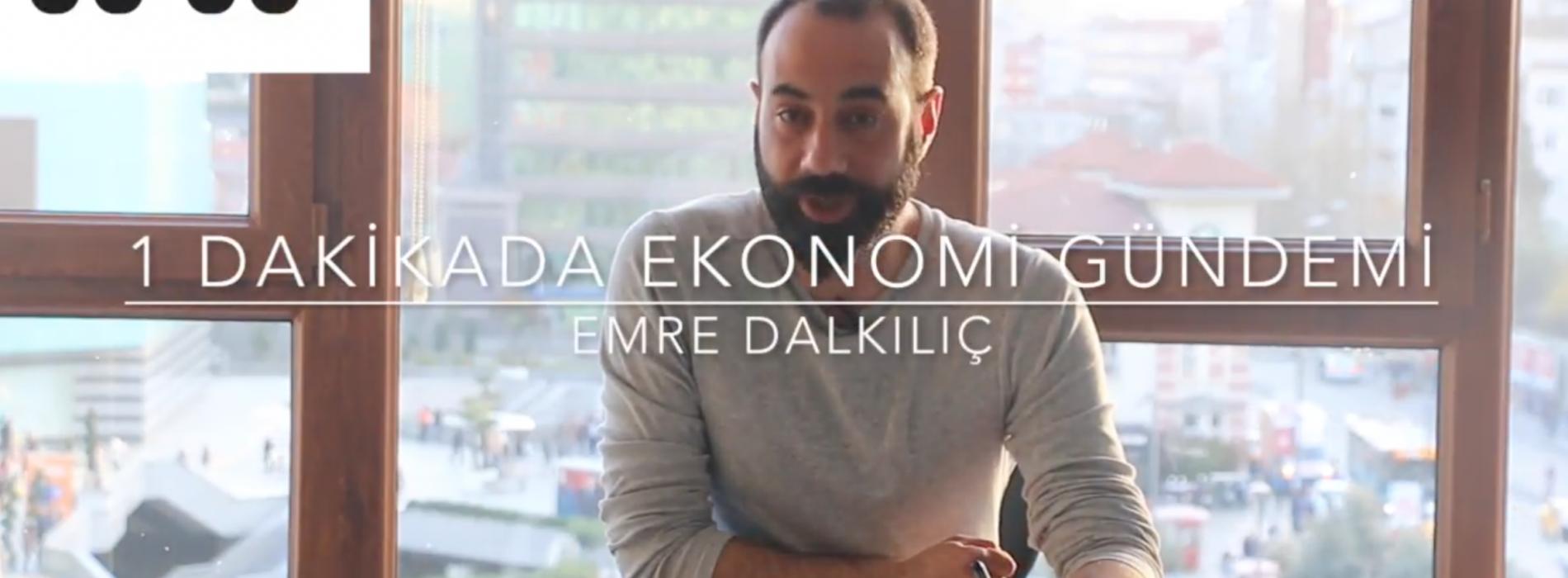 1 Dakikada Ekonomi Gündemi-31.03.17