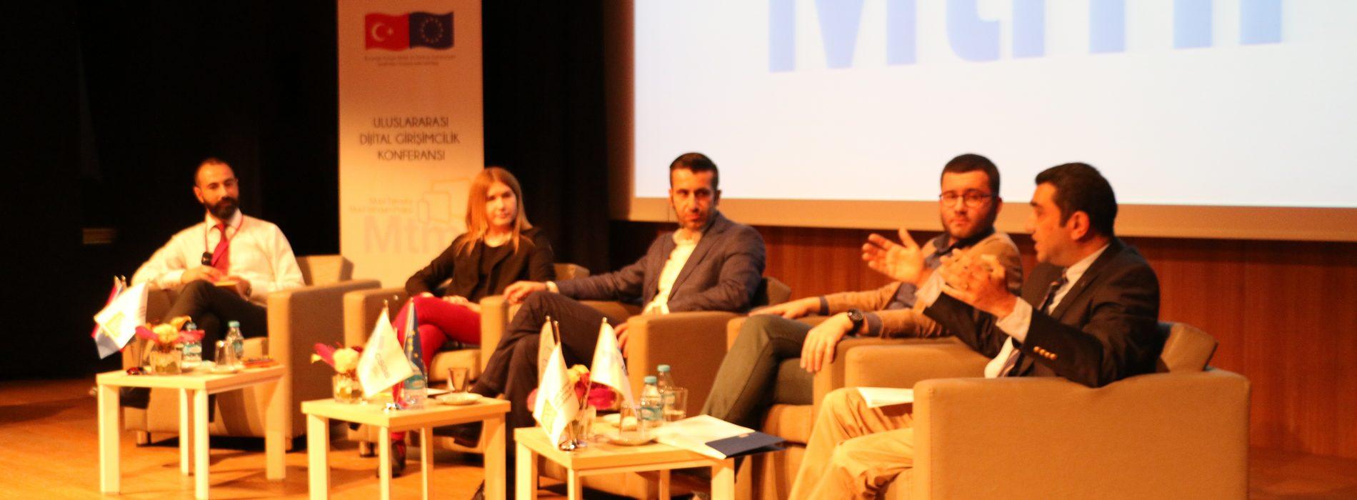 Uluslararası Dijital Girişimcilik Konferansı Gerçekleşti