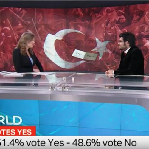TRT World: Referandum Değerlendirmesi – 17.04.2017