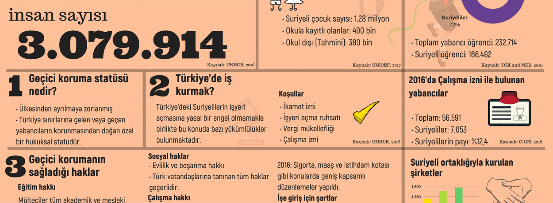 Türkiye'deki Suriyelilerin Durumunun İyileştirilmesi