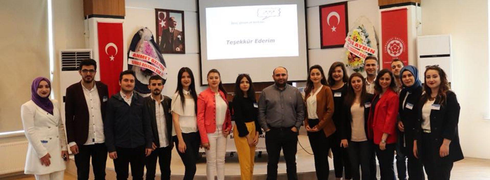 Ekonomistler Platformu, Sivas Cumhuriyet Üniversitesi'nde idi