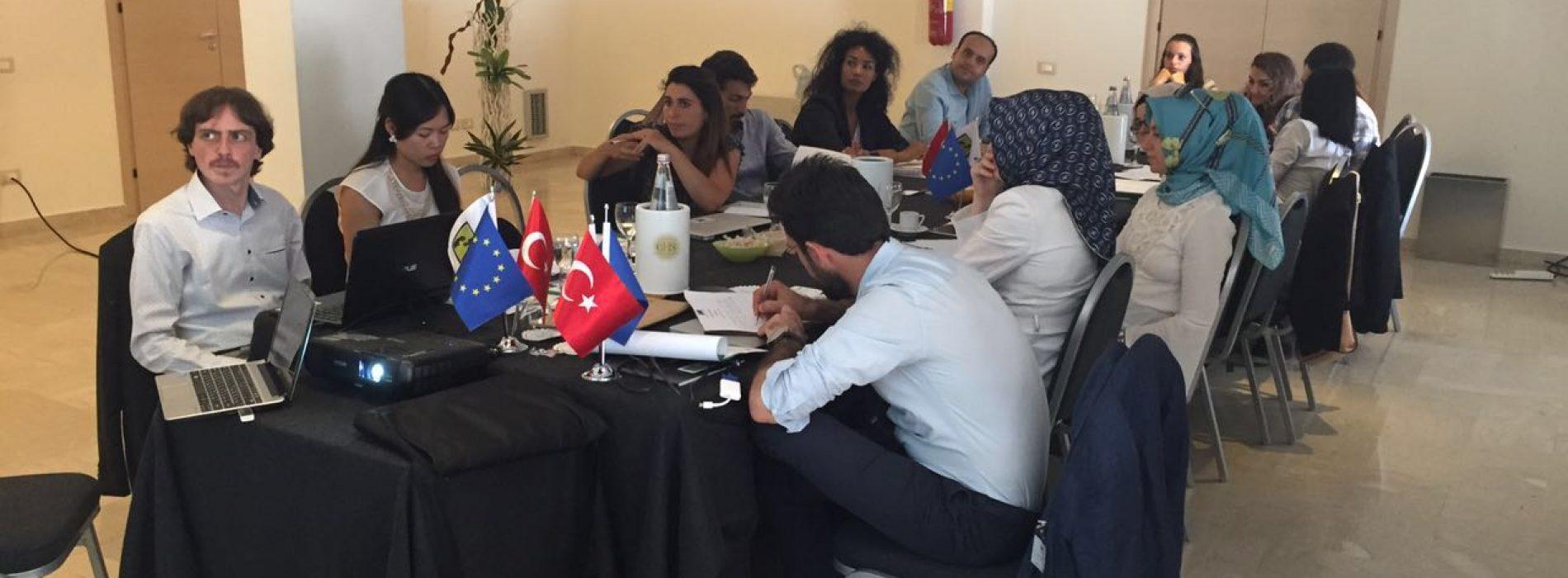 'Suriyeli Mülteci Çocuklarla El Ele Projesi' Palermo Toplantısı