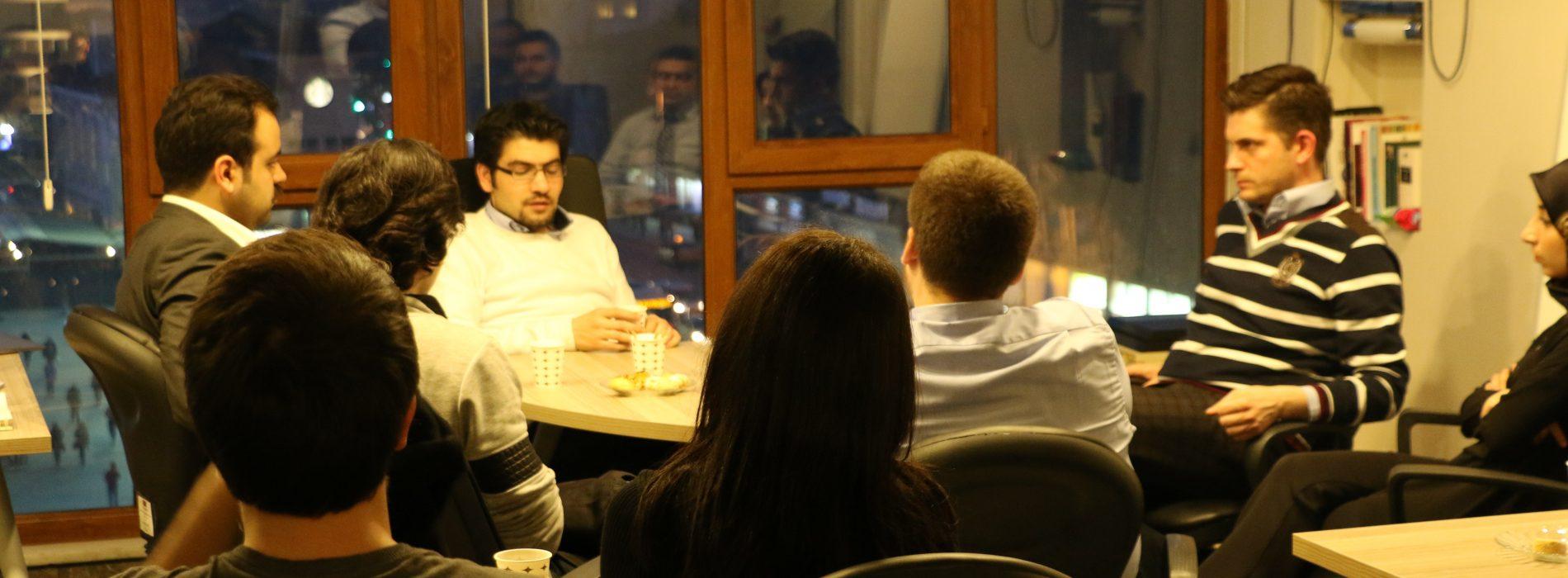 Birinci Ekosohbet İstanbul'da gerçekleşti