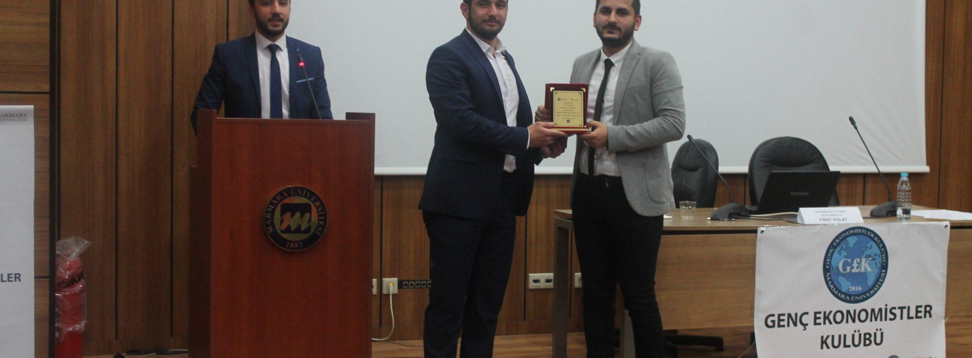 Ekonomistler Platformu Marmara Üniversitesi'nde idi