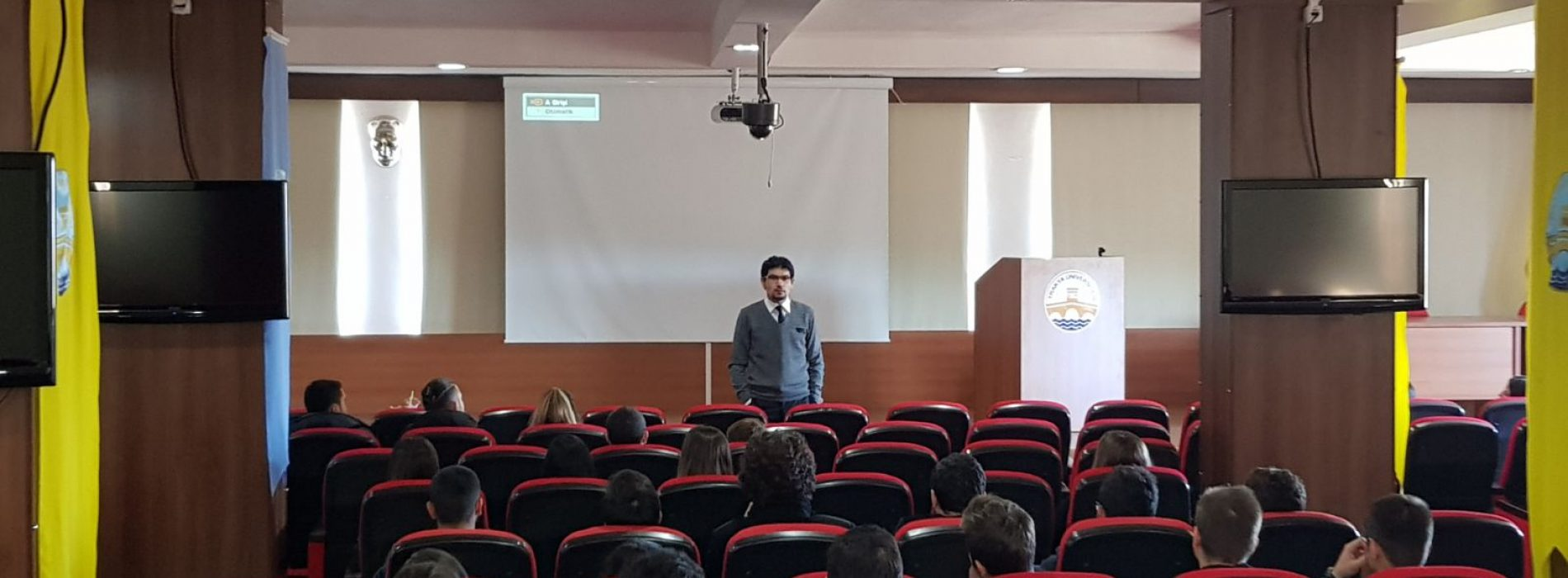 Trakya Üniversitesi'ndeydik
